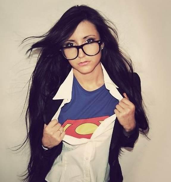 Halloween Costume with Glasses Clark Kent Superman