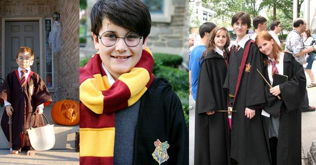 Halloween Costume with Glasses, Harry Potter