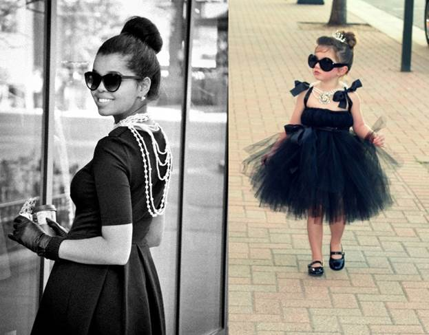 Halloween Costume with Glasses Holly Golightly