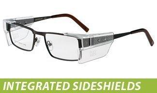 Cat Prescription Glasses: Integrated Sideshields