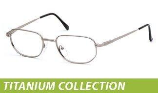 OnGuard Prescription Eyewear: Titanium Collection
