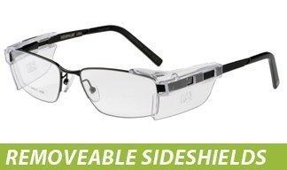Cat Prescription Eyewear: Removeable Sideshields