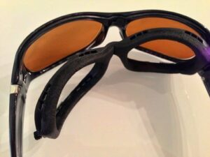Prescription Safety Glasses with Foam Inserts