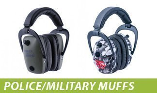 Police and Military Hearing-Protective Headphones
