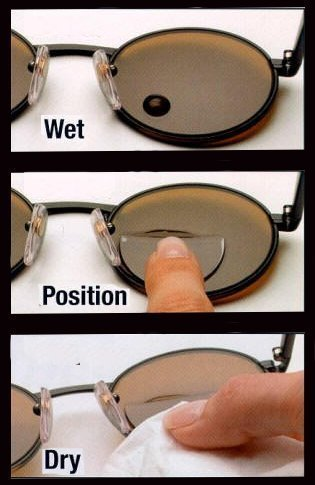 1977ab131b93 How to Install and Remove Stick On Bifocals - Rx Prescription Safety Glasses