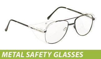 Metal Safety Glasses