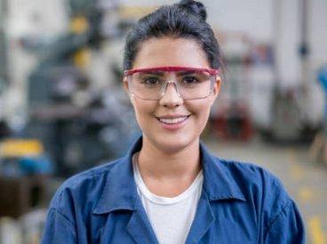 women-safety-glasses