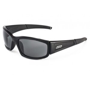 ESS CDI Sunglasses, Black Frame with Clear and Smoke Gray Lenses, #740-0296