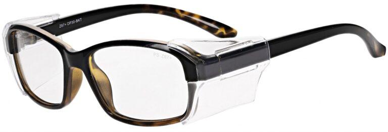 Model RX-OP30 Safety Glasses in Black/Tortoise RX-OP30-BKT