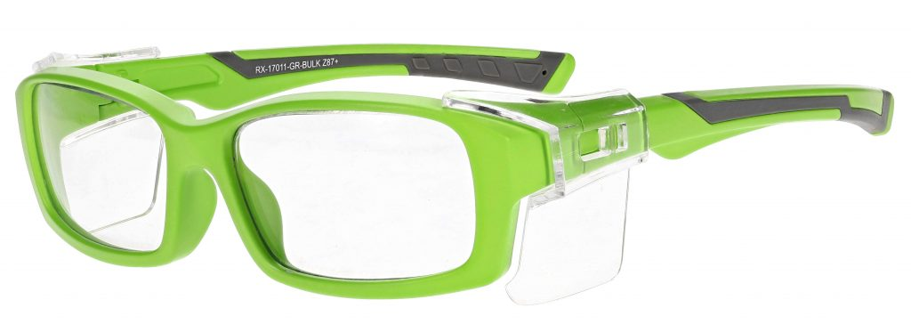 Model RX-17011 Safety Glasses in Green RX-17011-GR