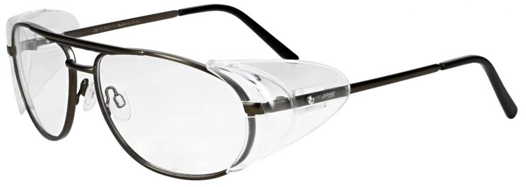 RX-600 Safety Glasses in Pewter RX-600-P