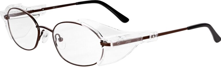 Model RX-700 Brown Safety Glasses RX-700-BN
