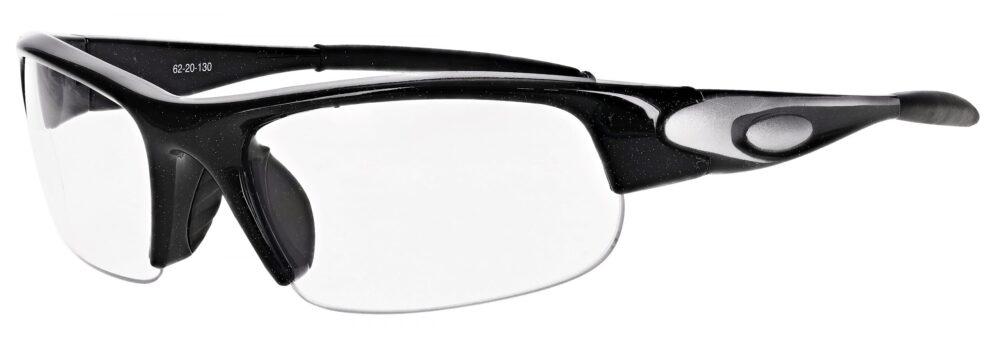 Prescription Free Form Safety Glasses RX-D05-BK in Black