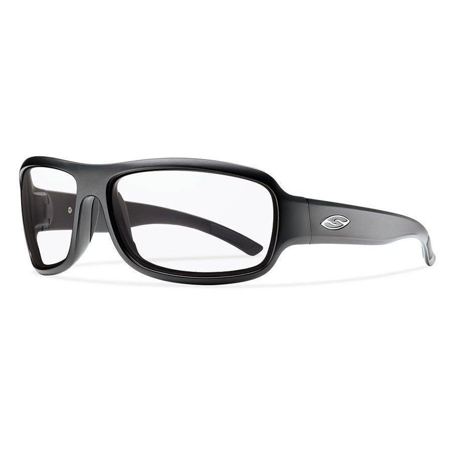 Smith Optics Drop Elite Sunglasses Matte Black Frame With Clear Lens DPTPCCLBK