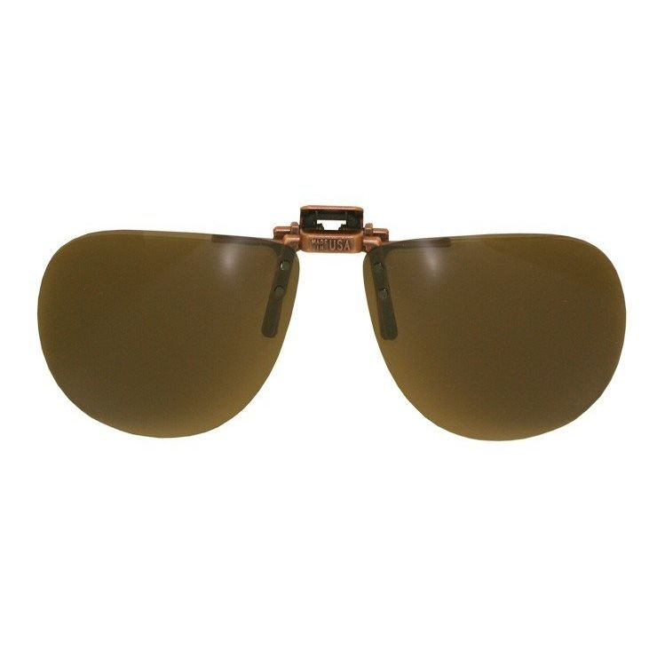 AviatorPolarizedBrown,#VS G BRN RxPrescriptionSafetyGlasses