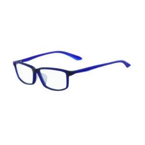 NIKE AF  SATIN DARK BLUE WITH SATIN CRYSTAL BLUE TEMPLE