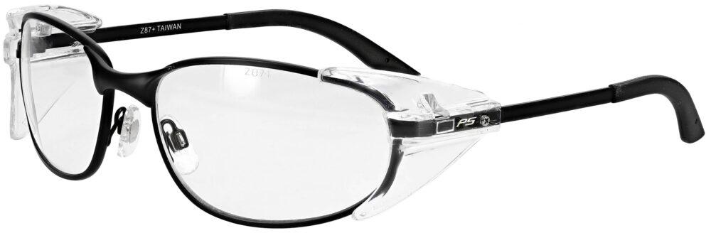 Model RX-525 Metal Safety Glasses in Black RX-525-BK