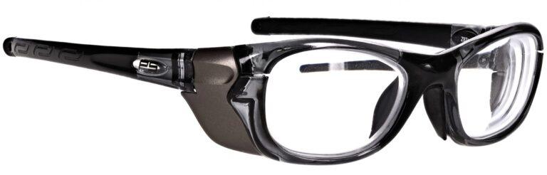 Model RX-Q100 Plastic Safety Glasses in Black RX-Q100-BK