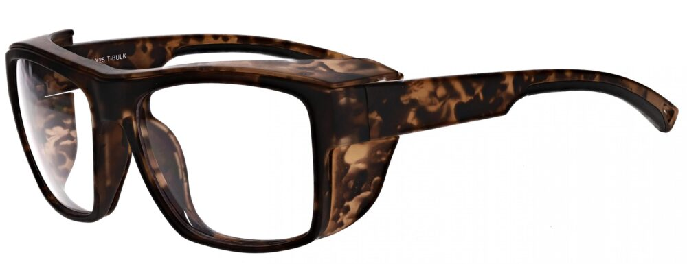 Model RX-X25 Safety Glasses in Black RX-X25-BKModel RX-X25 Safety Glasses in Tortoise RX-X25-T