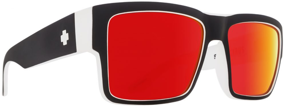 Spy Cyrus Plastic Prescription Sunglasses in Whitewall SPY-CYRUS-W