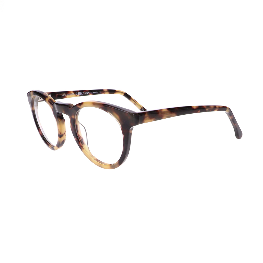 Geek New Yorker Eyeglasses in Demi Yellow LBI-GK-NEWYORKER-DY