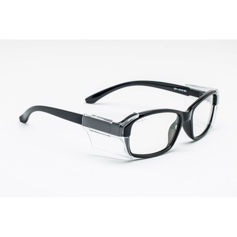 rx-op-30 prescription safety glasses with side shields