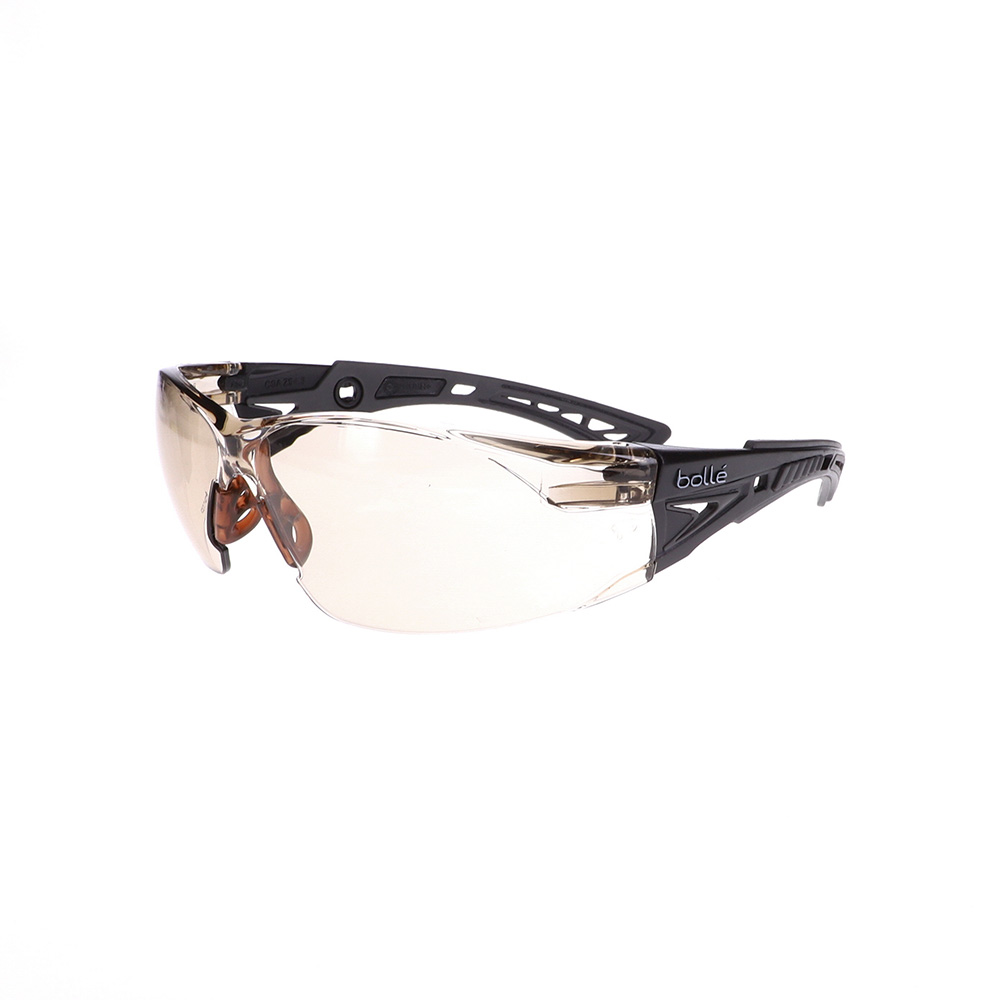 Bolle Rush+ Black/Grey CSP Safety Glasses BO-RUSH+-40209