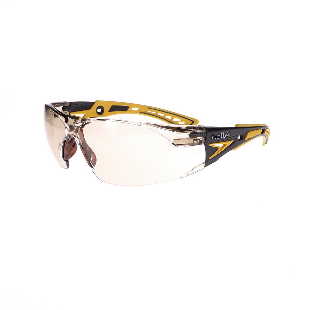 Bolle Rush+ Yellow/Black CSP Safety Glasses BO-RUSH+-40245