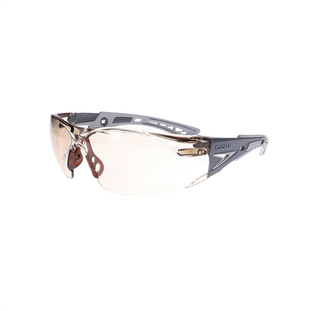 Bolle Rush+ Grey/Silver CSP Safety Glasses BO-RUSH+-40294