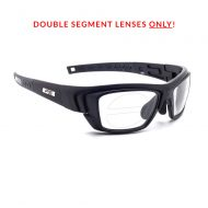 RX-J136 Double Segment Safety Glasses