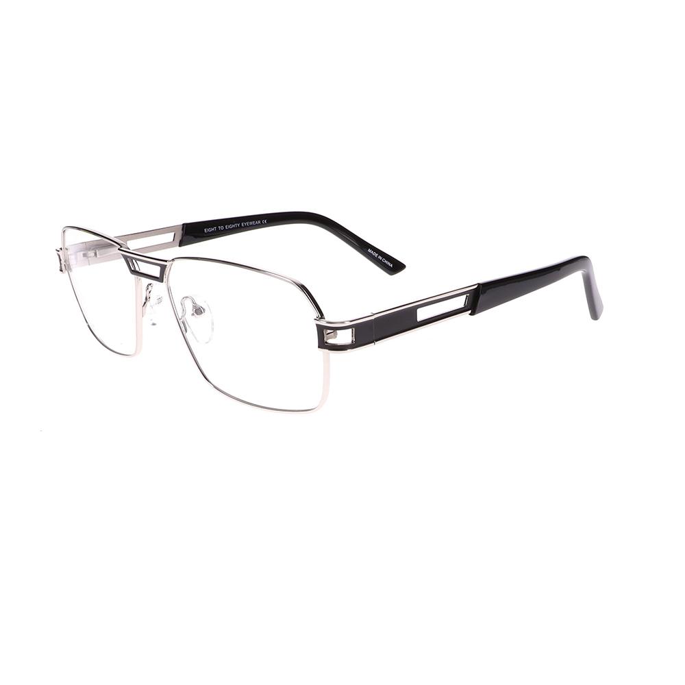 Eight to Eighty Twan Silver/Black Eyeglasses ETE-TWAN-SBK