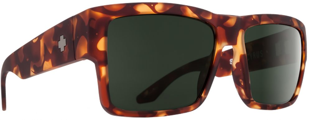 Spy Cyrus Plastic Prescription Sunglasses in Soft Matte Camo Tort SPY-CYRUS-CT