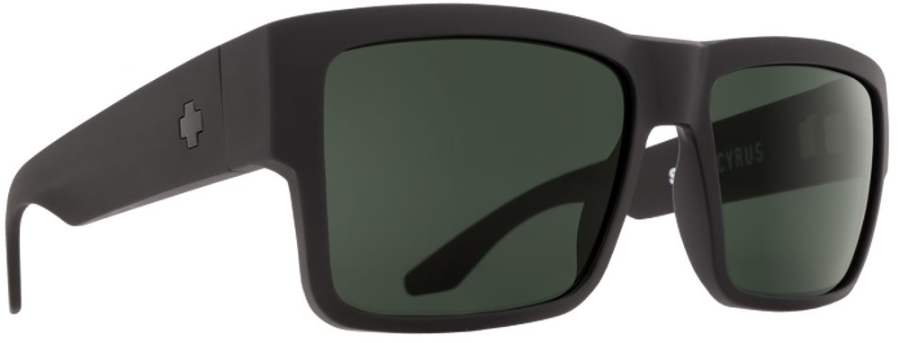 Spy Cyrus Plastic Prescription Sunglasses in Matte Black SPY-CYRUS-MBK
